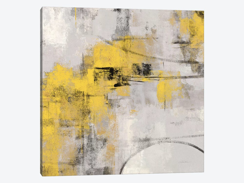 Stone Gardens II Yellow by Silvia Vassileva 1-piece Canvas Print