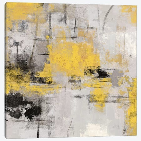 Stone Gardens III Yellow 3-Piece Canvas #WAC8617} by Silvia Vassileva Canvas Print