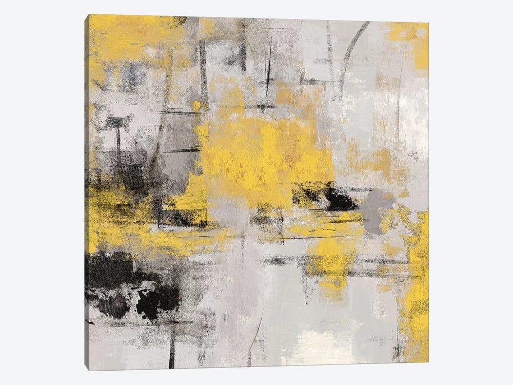 Stone Gardens III Yellow by Silvia Vassileva 1-piece Canvas Print
