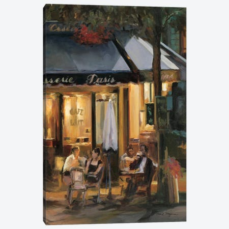 La Brasserie III Canvas Print #WAC861} by Marilyn Hageman Canvas Art