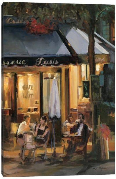 La Brasserie III Canvas Print #WAC861
