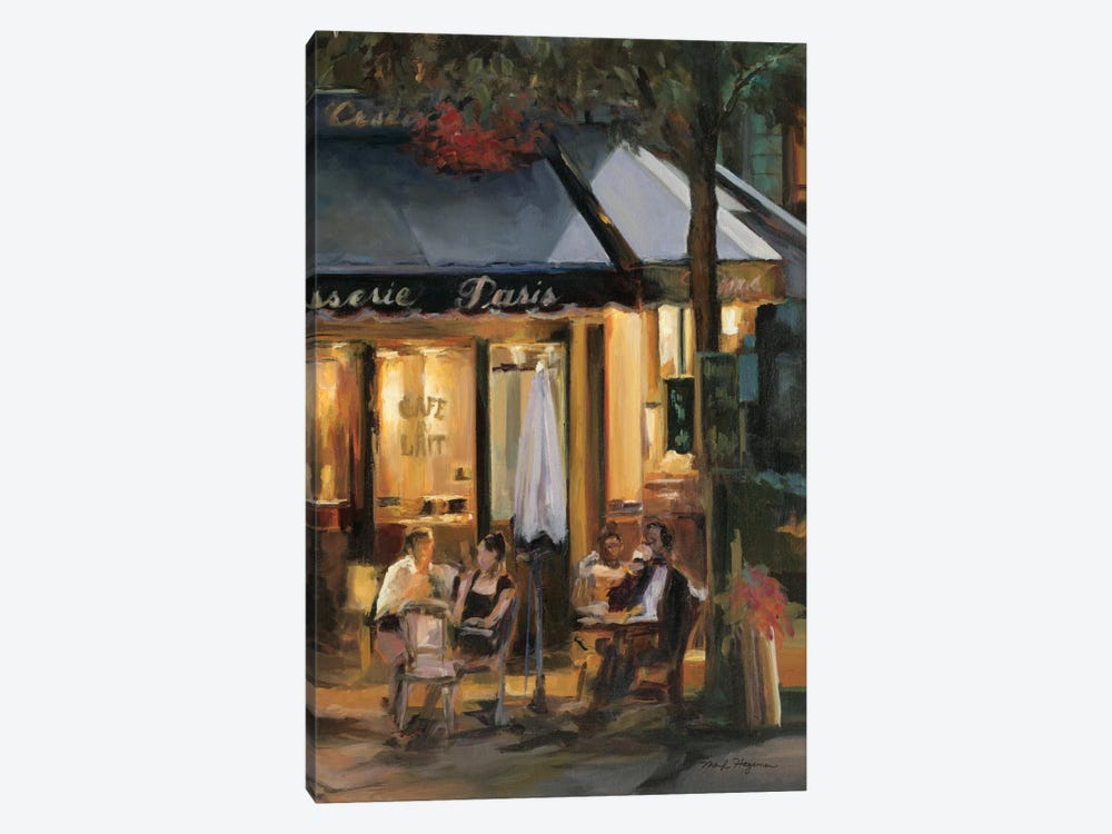 La Brasserie III by Marilyn Hageman 1-piece Canvas Wall Art