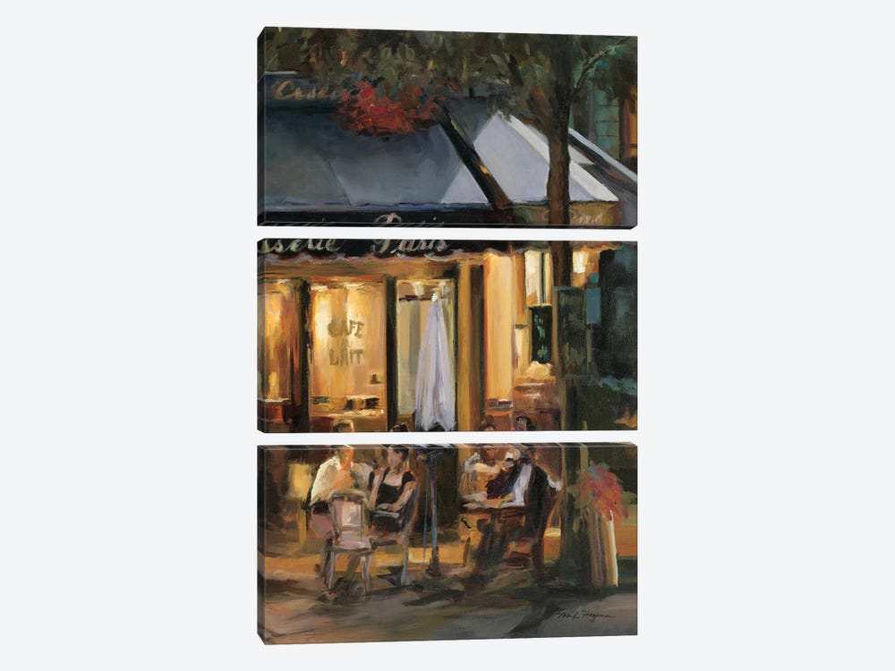 La Brasserie III by Marilyn Hageman 3-piece Canvas Art