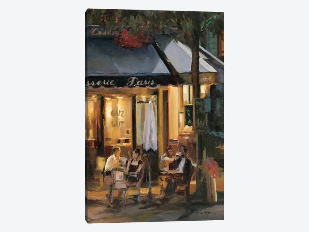 La Brasserie III by Marilyn Hageman 1-piece Canvas Wall Art