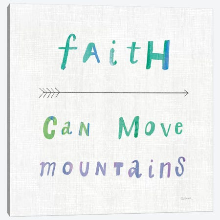 Beliefs I Canvas Print #WAC8622} by Sue Schlabach Canvas Print