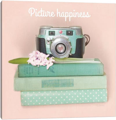 Love Office III: Picture Happiness Canvas Art Print