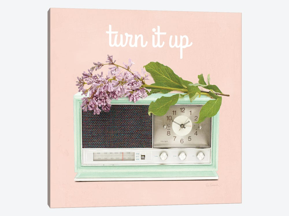 Love Office IV: Turn It Up by Sue Schlabach 1-piece Art Print