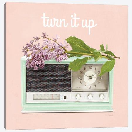 Love Office IV: Turn It Up Canvas Print #WAC8633} by Sue Schlabach Canvas Artwork