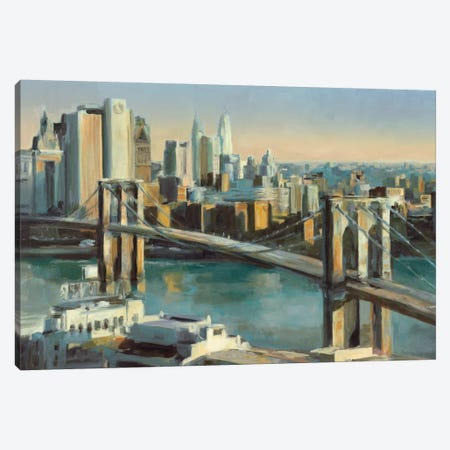 Into Manhattan Canvas Print #WAC864} by Marilyn Hageman Canvas Art Print
