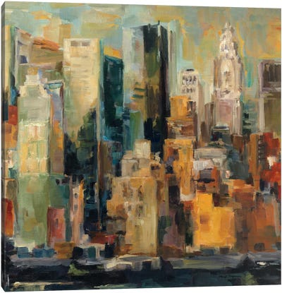 New York, New York by Marilyn Hageman Canvas Art Print