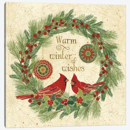 Winter Feathers VIII Canvas Print #WAC8661} by Veronique Charron Canvas Art Print