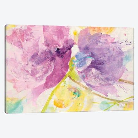 Spring Abstract Florals I Canvas Print #WAC8668} by Albena Hristova Canvas Print