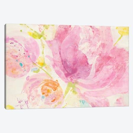 Spring Abstract Florals II Canvas Print #WAC8669} by Albena Hristova Canvas Print