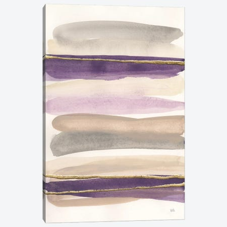 Gilded Amethyst I Crop Canvas Print #WAC8670} by Chris Paschke Canvas Wall Art