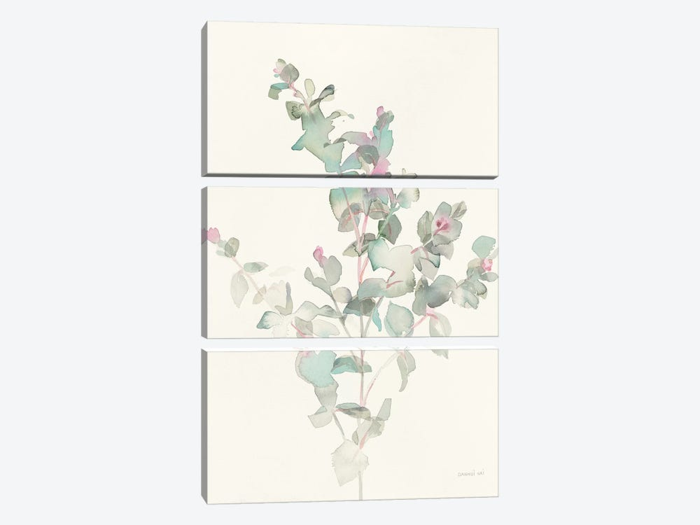 Eucalyptus II by Danhui Nai 3-piece Canvas Art Print