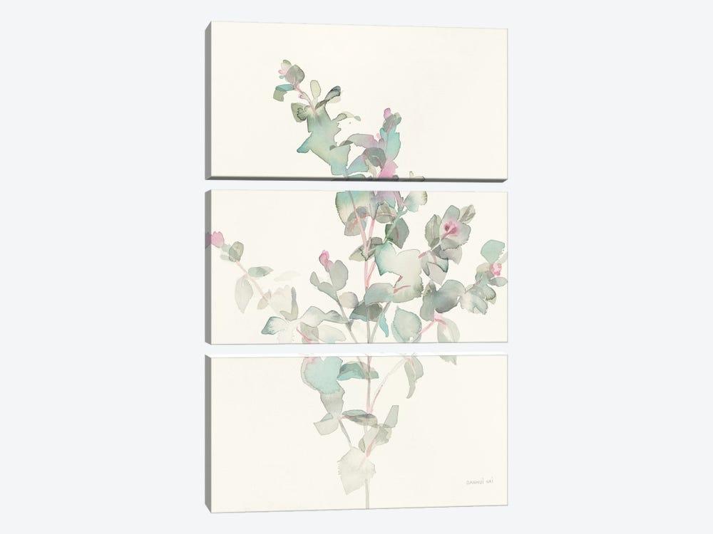 Eucalyptus II by Danhui Nai 3-piece Canvas Art Print
