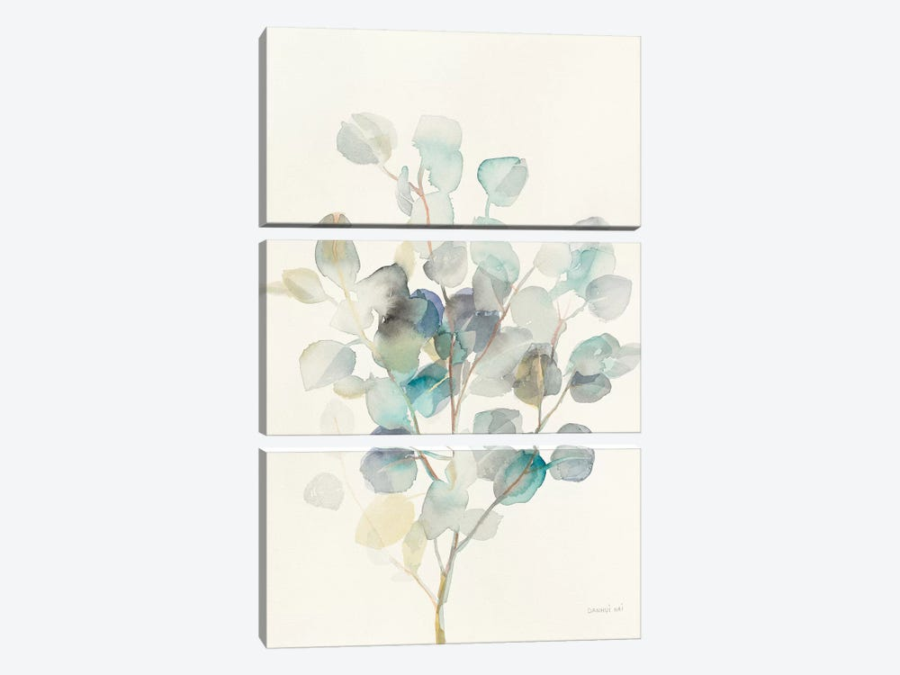 Eucalyptus III by Danhui Nai 3-piece Canvas Print