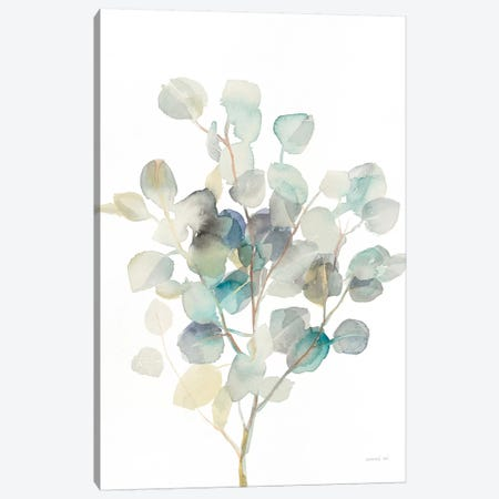 Eucalyptus III, White Canvas Print #WAC8678} by Danhui Nai Canvas Art