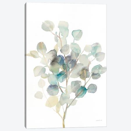 Eucalyptus III, White 3-Piece Canvas #WAC8678} by Danhui Nai Canvas Art
