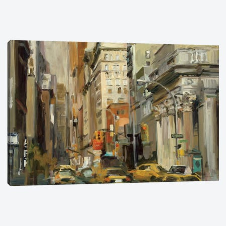 Union Square NY Canvas Print #WAC868} by Marilyn Hageman Canvas Wall Art
