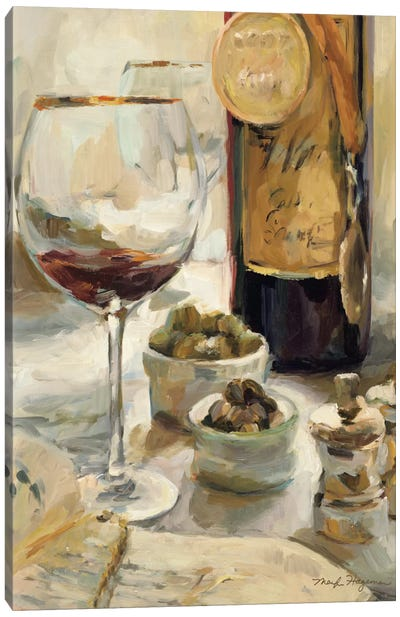Award Winning Wine I  by Marilyn Hageman Canvas Art Print