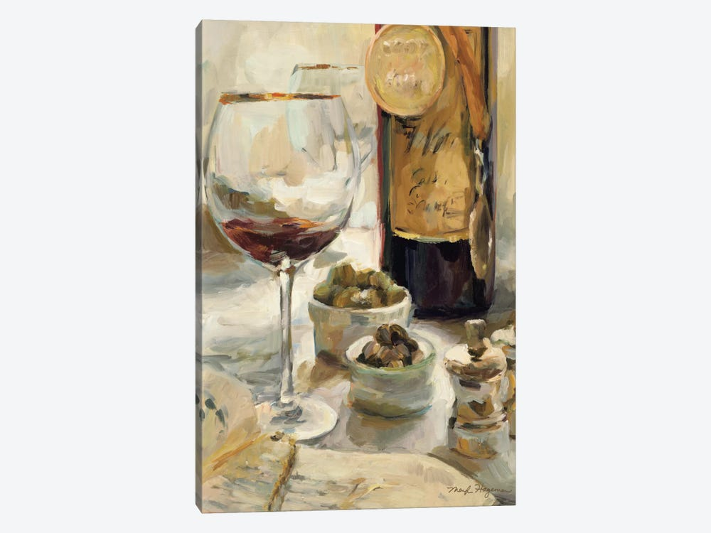 Award Winning Wine I by Marilyn Hageman 1-piece Canvas Artwork