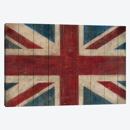 Union Jack Canvas Print #WAC86} by Avery Tillmon Canvas Wall Art