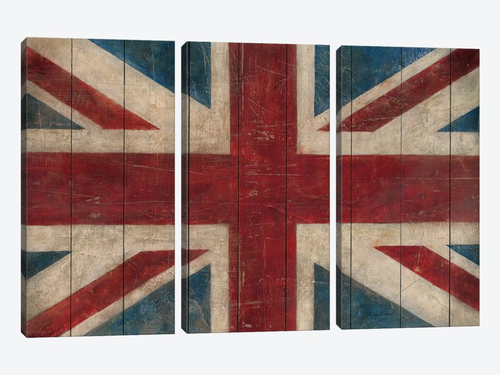 Union Jack by Avery Tillmon 3-piece Canvas Wall Art
