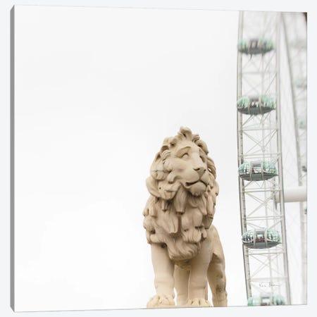 Lion Of London Canvas Print #WAC8700} by Keri Bevan Canvas Art