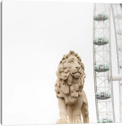 Lion Of London Canvas Art Print