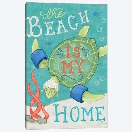 Ocean Friends II Canvas Print #WAC8707} by Mary Urban Art Print