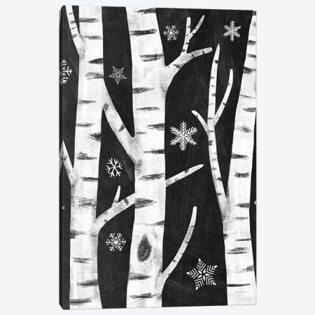 Snowy Birches I Canvas Print #WAC8708} by Mary Urban Canvas Artwork