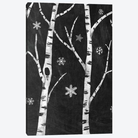 Snowy Birches II Canvas Print #WAC8709} by Mary Urban Canvas Wall Art