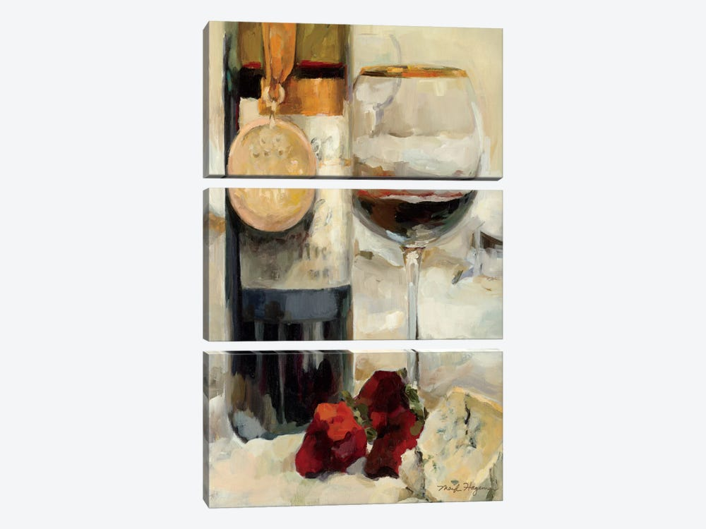 Award Winning Wine II by Marilyn Hageman 3-piece Canvas Artwork
