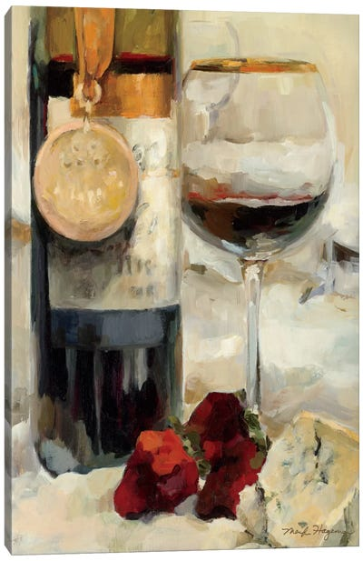 Award Winning Wine II  Canvas Art Print