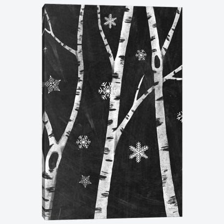 Snowy Birches III Canvas Print #WAC8710} by Mary Urban Canvas Art Print