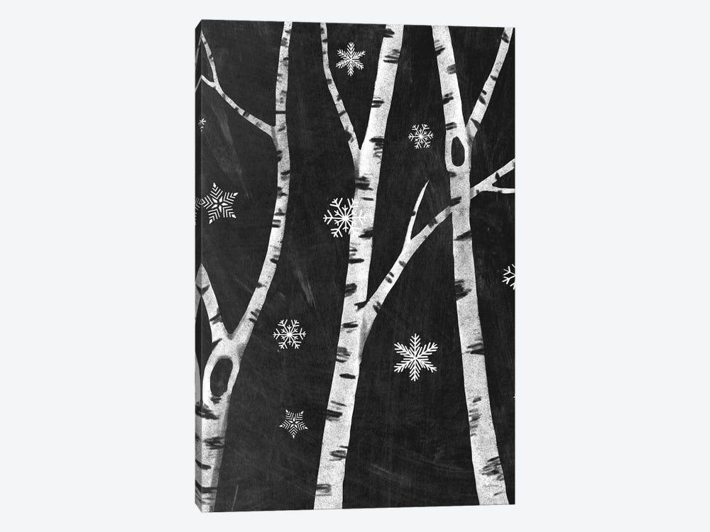 Snowy Birches III by Mary Urban 1-piece Canvas Art Print