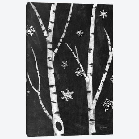 Snowy Birches IV Canvas Print #WAC8711} by Mary Urban Art Print