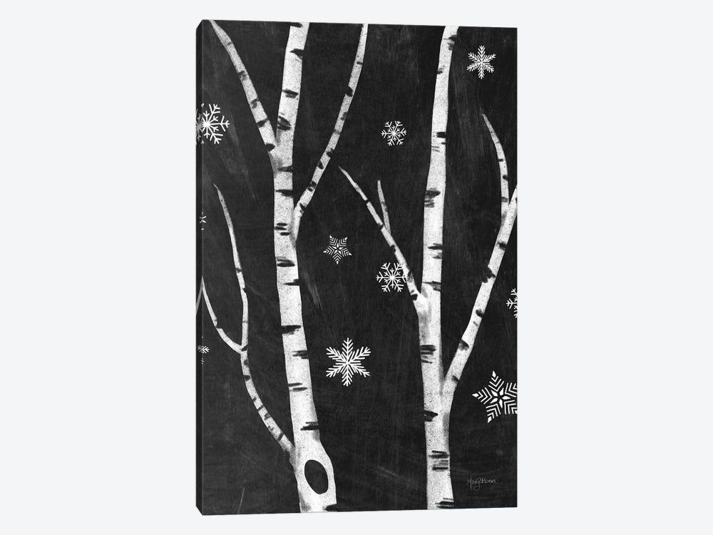 Snowy Birches IV by Mary Urban 1-piece Canvas Wall Art