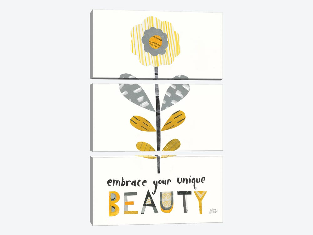 Bloom Boldly II by Melissa Averinos 3-piece Canvas Art