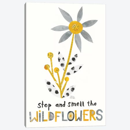 Bloom Boldly III Canvas Print #WAC8714} by Melissa Averinos Canvas Artwork