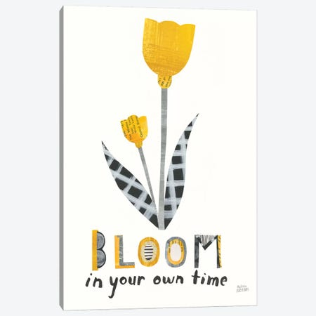 Bloom Boldly IV Canvas Print #WAC8715} by Melissa Averinos Canvas Artwork