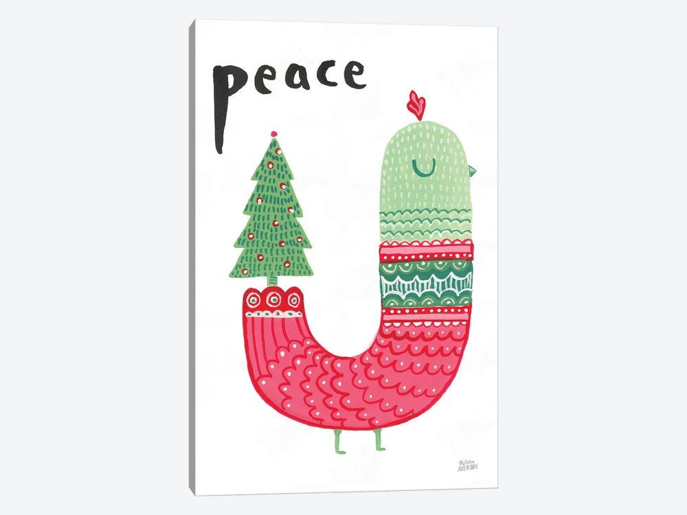 Christmas Tweets III by Melissa Averinos 1-piece Art Print