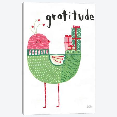 Christmas Tweets IV Canvas Print #WAC8719} by Melissa Averinos Art Print