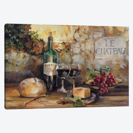 Le Chateau Canvas Print #WAC871} by Marilyn Hageman Canvas Art Print