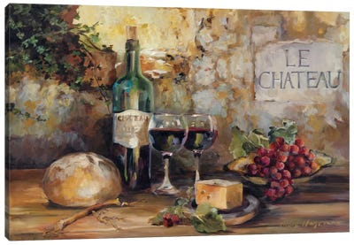 Le Chateau by Marilyn Hageman Canvas Art Print