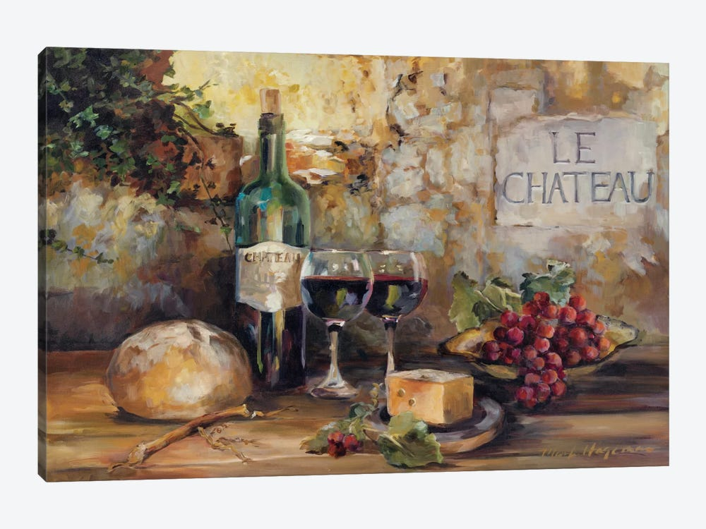 Le Chateau by Marilyn Hageman 1-piece Art Print