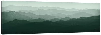 Green Mountains Canvas Art Print