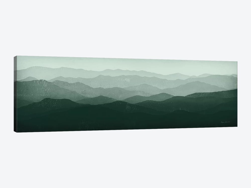 Green Mountains by Ryan Fowler 1-piece Canvas Wall Art