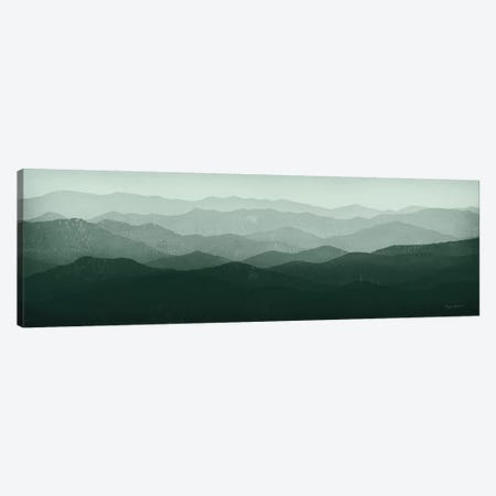 Green Mountains Canvas Print #WAC8722} by Ryan Fowler Canvas Art